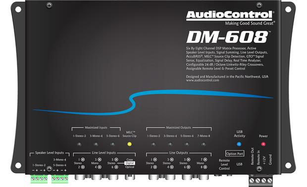 AudioControl DM-608 Front