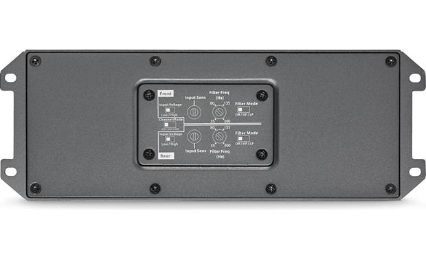 JL Audio MX280/4 A sealed cover protects the controls