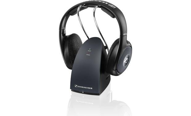Sennheiser RS 135-9 The transmitter connects to your TV's headphone jack and sends audio wirelessly to the headset