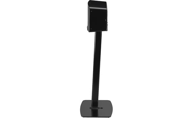 Flexson Horizontal Floor Stand Shown from side with speaker mounted (PLAY:5 not included)