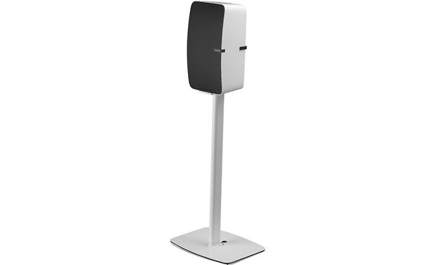 Flexson Vertical Floor Stand Shown with PLAY:5 mounted (speaker not included)