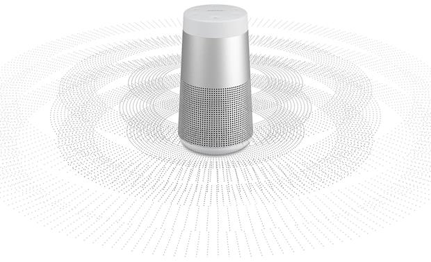 Bose® SoundLink® Revolve <em>Bluetooth®</em> speaker Lux Gray - 360° sound