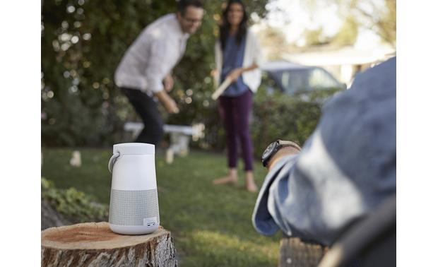 Bose&reg; SoundLink&reg; Revolve+ <em>Bluetooth&reg;</em> speaker Lux Gray - ideal for outdoor use