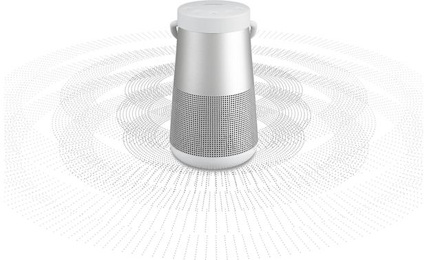 Bose&reg; SoundLink&reg; Revolve+ <em>Bluetooth&reg;</em> speaker Lux Gray - immersive 360° sound