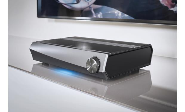 Denon HEOS AVR Shown powered on