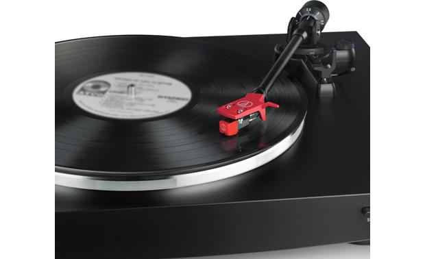 Audio-Technica AT-LP3 The included headshell and cartridge offer great sound and add an interesting color accent