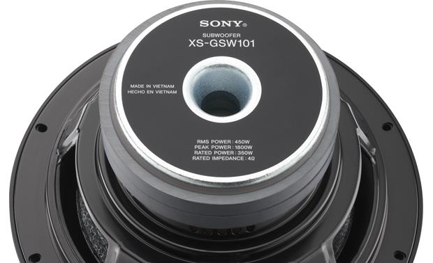 Sony XS-GSW101 Back