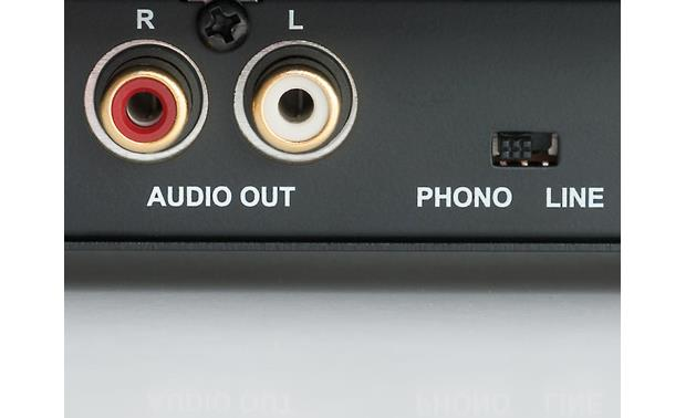 Music Hall MMF-1.3 Built-in phono preamp gives you multiple setup options