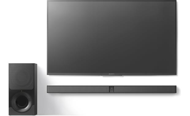 Sony HT-CT290 Space-saving, wall-mountable design