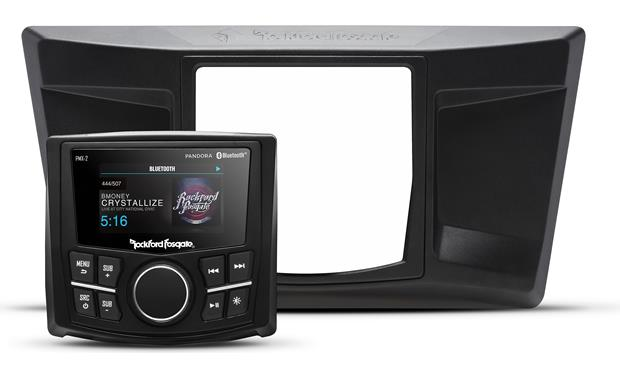 Rockford Fosgate YXZ-STAGE1 receiver and dash kit