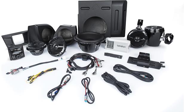 Rockford Fosgate YXZ-STAGE4 audio upgrade kit
