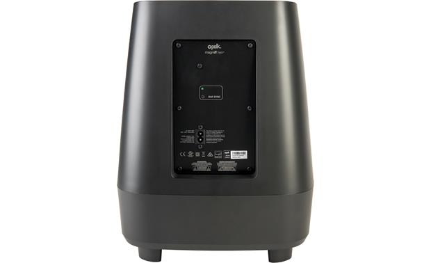 Polk Audio MagniFi MAX Back of wireless subwoofer