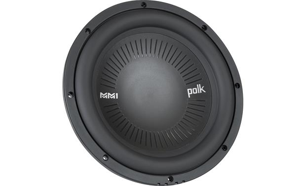 Polk Audio MM 1042 SVC a titanium-coated polymer cone that'll stand the test of time