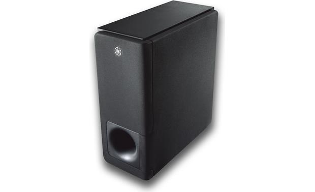Yamaha YAS-207 Slim subwoofer connects to the bar wirelessly