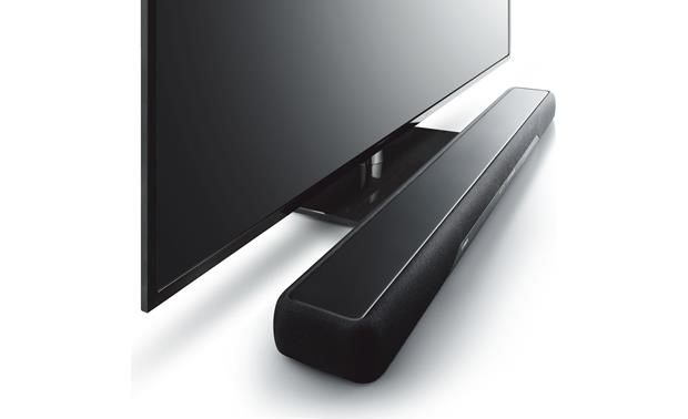 Yamaha YAS-207 Slim sound bar fits into most TV setups