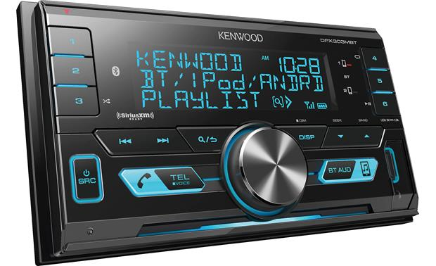 Kenwood DPX303MBT Works with Pandora and Spotify