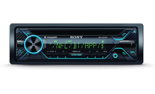 Sony MEX-GS820BT Front