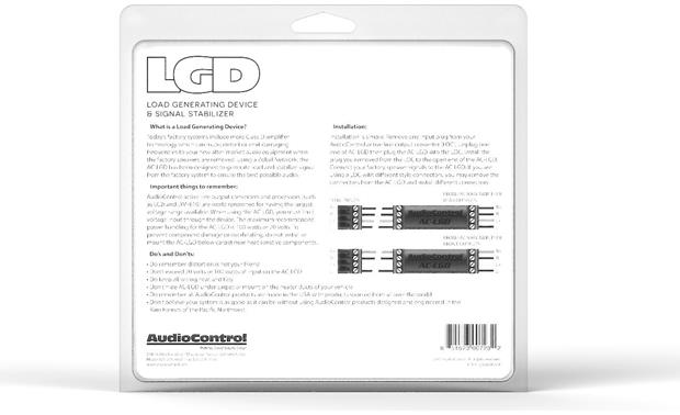 AudioControl AC-LGD Installation instructions included