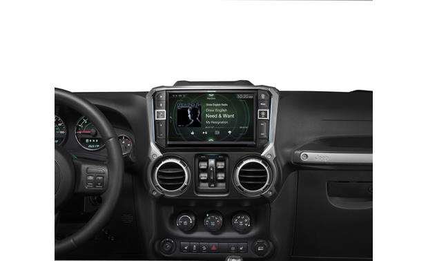 Alpine i209-WRA In-Dash Restyle System all-weather digital media receiver