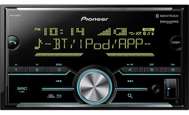 Pioneer MVH-S600BS Easy to read, easy to use