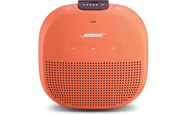 Bose® SoundLink® Micro <em>Bluetooth®</em> speaker Orange with Purple strap
