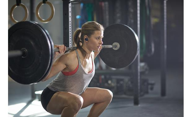 Bose® SoundSport® Free wireless headphones Music plays wirelessly from your phone via Bluetooth