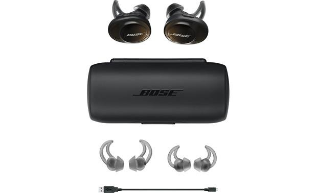 Bose® SoundSport® Free wireless headphones Included accesories