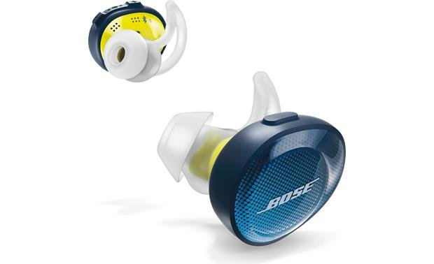 Bose® SoundSport® Free wireless headphones Truly wireless Bluetooth headphones without a connecting cord between the earbuds