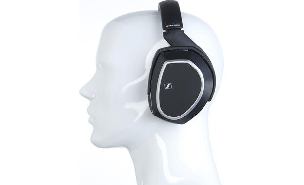Sennheiser RS 165 Mannequin shown for fit and scale