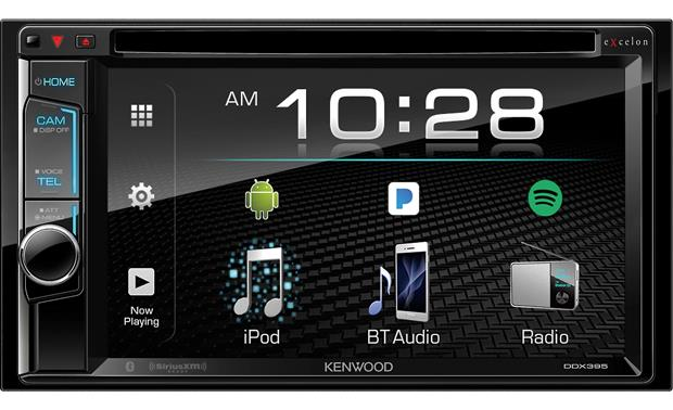Kenwood Excelon DDX395 This Kenwood Excelon receiver gives you touchscreen control over all your media