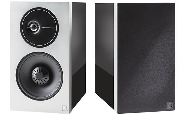 Definitive Technology Demand Series D11 Left speaker shown with magnetic grille removed