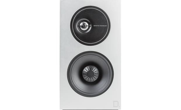 Definitive Technology Demand Series D9 Attractive aluminum front baffle (left speaker shown)