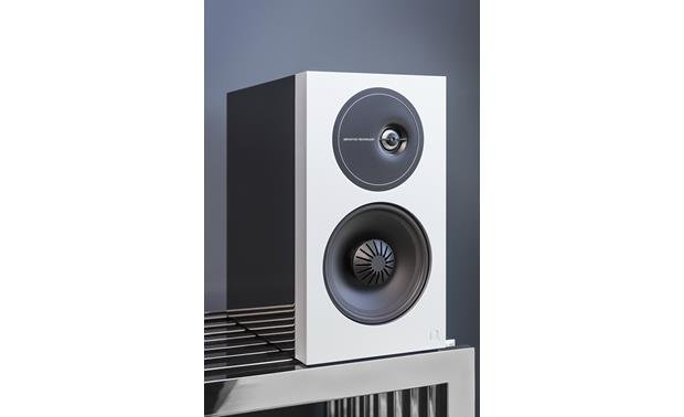 Definitive Technology Demand Series D9 Right speaker shown with grille removed