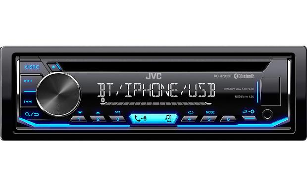 JVC KD-R790BT Dig on some high-res FLAC files and a host of sound processing for great sound