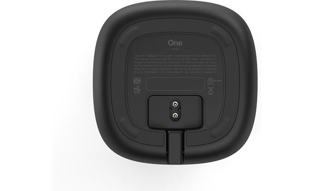 Sonos One Black - bottom