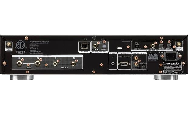Marantz ND8006 Back