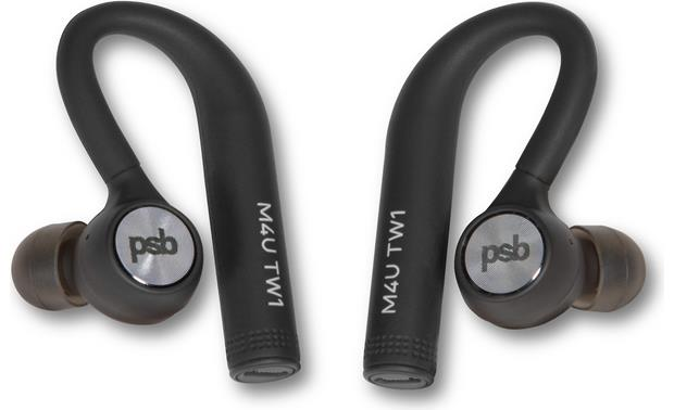 PSB M4U TW1 Truly wireless headphones with no connecting cord between earbuds