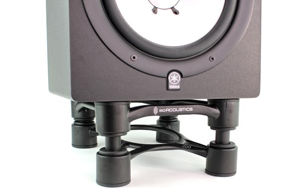 IsoAcoustics Aperta 200 Adjustable stand angle lets you aim the tweeter towards your ears