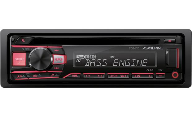 Alpine CDE-170 Get classic Alpine looks and great sound for your road trip