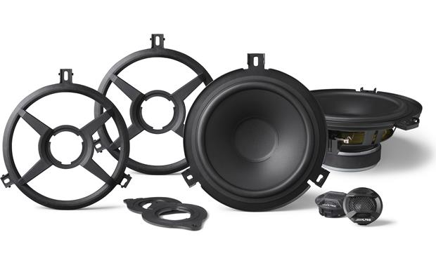 Alpine SPV-65X-WRA Install these vehicle-specific speakers as components or coaxials