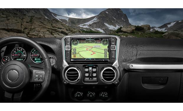 Alpine X209-WRA-OR In-Dash Restyle System Other