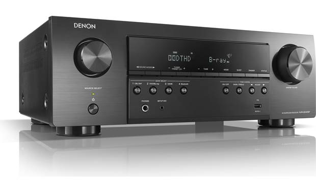 Denon AVR-S540BT Angled front view