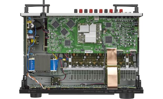 Denon AVR-S640H Internal view