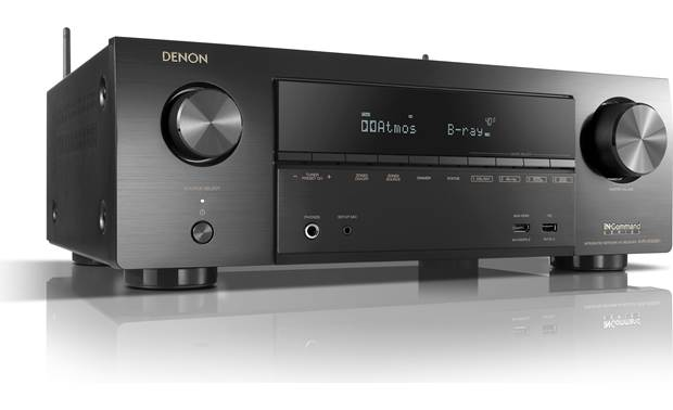 Denon AVR-X1500H Angled front view