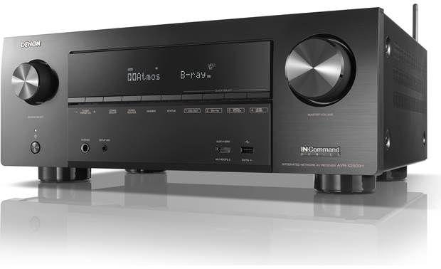Denon AVR-X2500H Angled front view