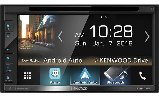 Kenwood DDX6705S Kenwood's not kidding about the