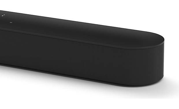 Sonos Beam Black - rounded sides