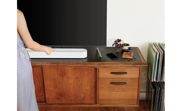 Sonos Beam White - top-mounted controls (TV not included)