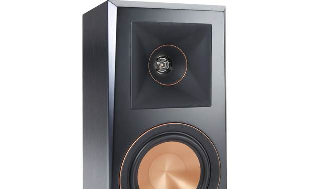 Klipsch Reference Premiere RP-500M Close-up of horn-loaded tweeter