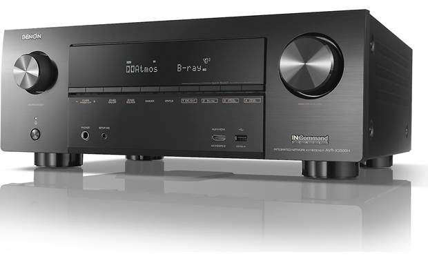 Denon AVR-X3500H Angled front view